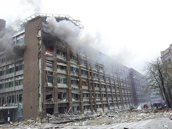 Oslo billow bomb