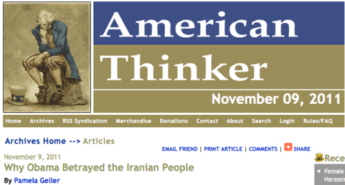 Articles: Why Obama Betrayed the Iranian People_1320823368796