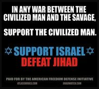 AFDI-SIOA Pro-Israel ad F