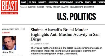 Shaima Alawadi's Brutal Murder Highlights Anti-Muslim Activity in San Diego - The Daily Beast_1335490421276