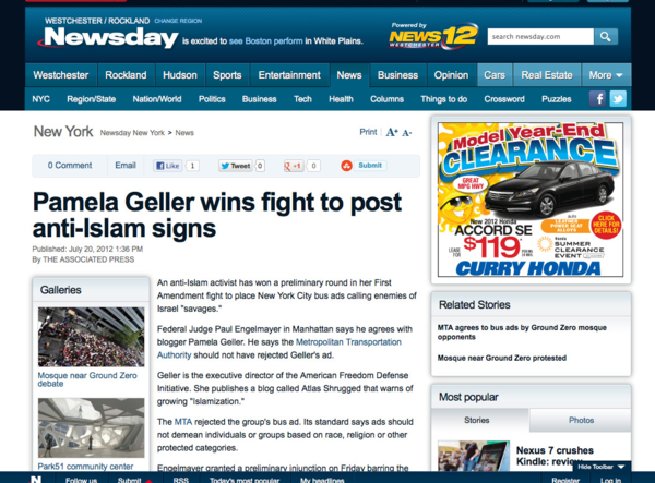 Pamela Geller wins fight to post anti-Islam signs_1342816891793