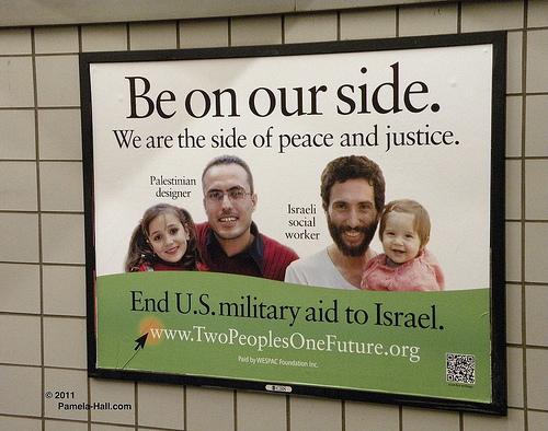 Anti-israel subway ad