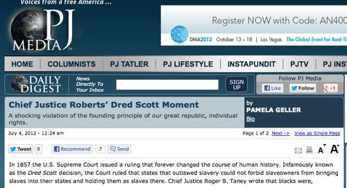 PJ Media » Chief Justice Roberts' Dred Scott Moment_1341410607877