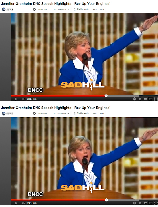 Jennifer-granholm-dnc-convention-speech-heil-hitler-nazi-barack-obama-mussolini-sad-hill-news