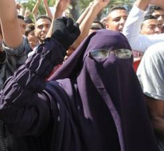 Morocco casablanca-protest