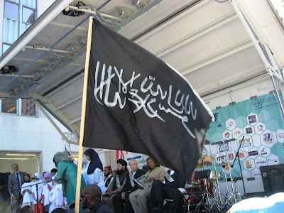 Muslims flag of jihad
