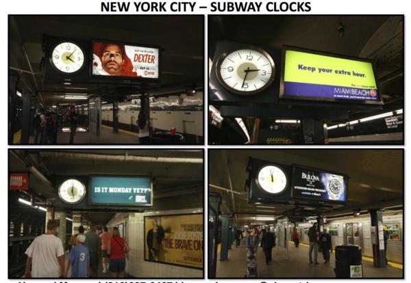 Clock platform copy