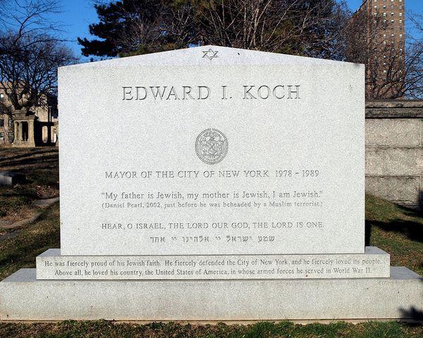 Koch tombstone