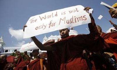 Burma-buddhist-protest