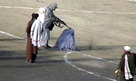 Taliban shoot woman adultery