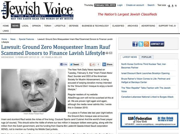 Lawsuit_Ground Zero Mosquesteer Imam Rauf Scammed Donors to Finance Lavish Lifestyle_20130214_155636 copy