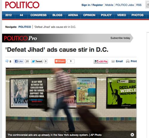 _Defeat Jihad_ ads cause stir in D.C. - Burgess Everett and Adam Snider - POLITICO.com_1349188041553
