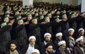 Hezbollah salute