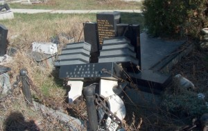 Serb desecration