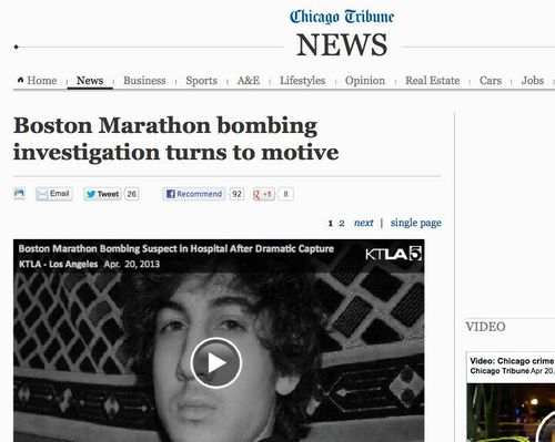Boston Marathon bombing suspect in custody - chicagotribune.com_20130420-131235