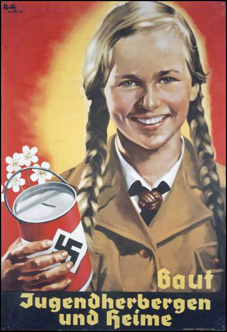Nazi Propaganda Poster - Support FemiNazi Youth