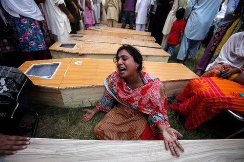 Chruch muslims slaughter