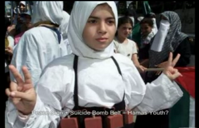 Suicide bomber child