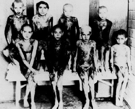 Jewsih children auschwitz